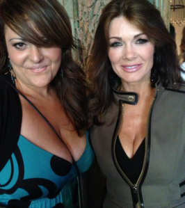 Fun party at Lisa Vanderpump's SUR Lounge in West Hollywood (Love her!)